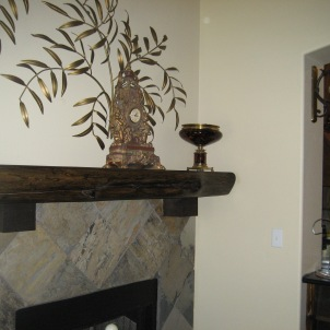 Fireplace Mantle, Tile/Marble Installation