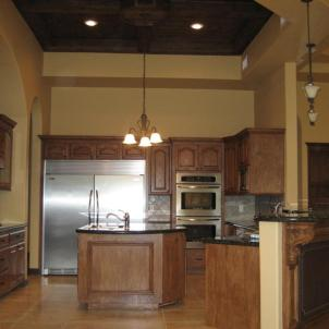 Kitchen remodeling and custom cabinetry (new construction)
